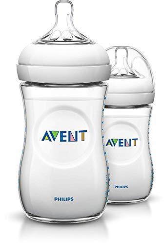 Philips Avent SCF693/27 Naturnah-Flasche, transparent, 2er Pack (2 x 260 ml)