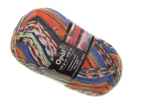 OPAL Sockenwolle Hundertwasser I - Regentag auf Liebe Wellen