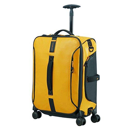 Samsonite Paradiver Light - Spinner Duffle Bag 55/20 Reisetasche, 55 cm, 50 L, Yellow