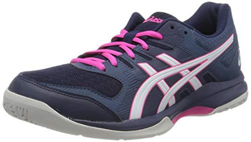 ASICS Damen 1072A034-401_39 Volleyball Shoes, Navy, EU