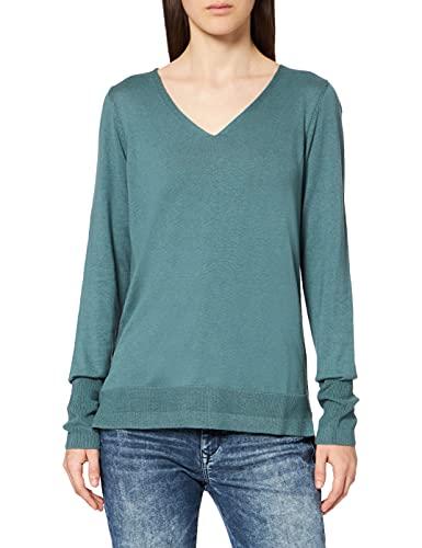ESPRIT V-Neck-Pullover mit Organic Cotton