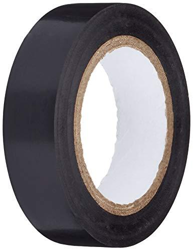 K24 - Klebebänder 10401 Stück PVC Isolierband Klebeband 10 Meter lang 15 mm breit schwarz, 15mm x 10mtr
