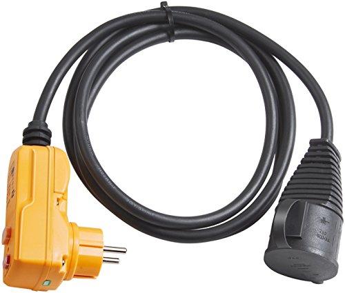Brennenstuhl Schutzadapterkabel FI IP44 2m schwarz H07RN-F 3G1,5