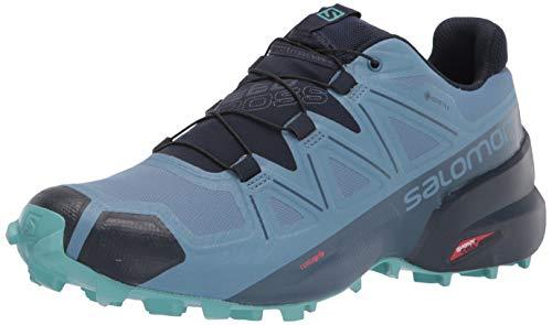 Salomon Damen Speedcross 5 GTX W Trailrunning-Schuhe, Blau, 36 EU