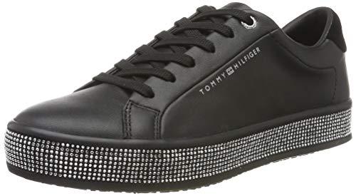 Tommy Hilfiger Damen Jupiter 18a1 Sneaker, Schwarz (Black Bds), 37 EU