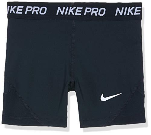 Nike Mädchen Pro Shorts, Black/White, M