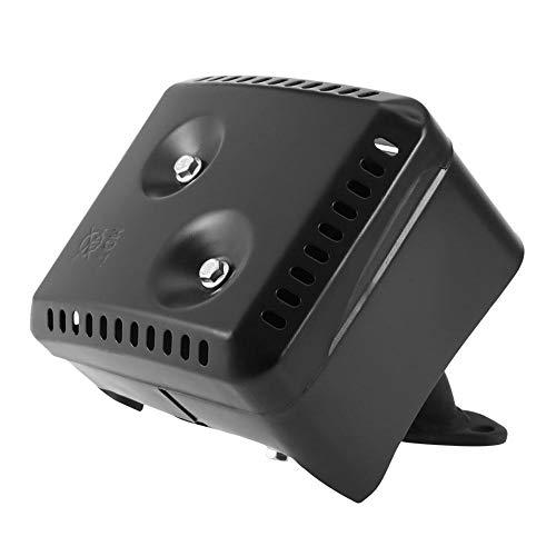 Rockyin Schalldämpfer, Abgas-Schalldämpfer-System mit Hitzeschild for GX120 GX160 GX200 5.5 HP 6.5 HP