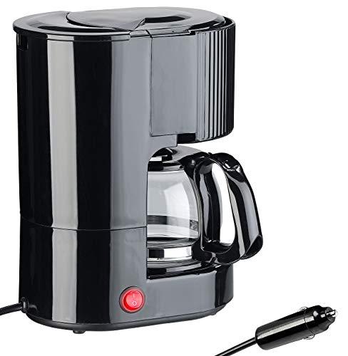 Rosenstein & Söhne 12V Kaffeemaschine: Kfz-Filterkaffee-Maschine, bis zu 3 Tassen, 650 ml, 12 Volt, 170 Watt (Kaffeemaschine 12 Volt)