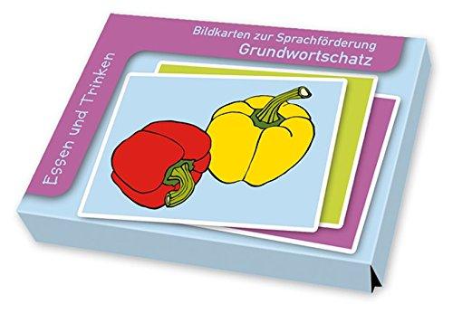 Bildkarten zur Sprachförderung Grundwortschatz: Essen und Trinken