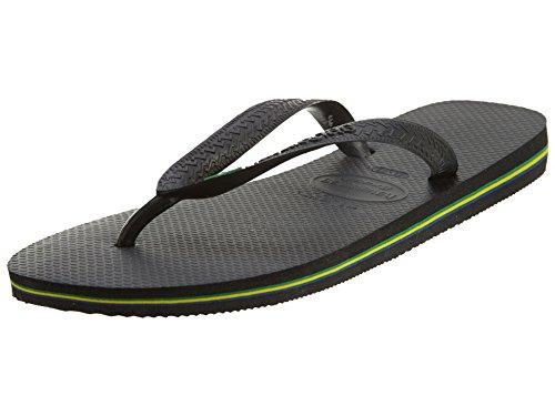 Havaianas Brazil Damen Flip Flop Sandale, Schwarz (schwarz), 42/43 EU
