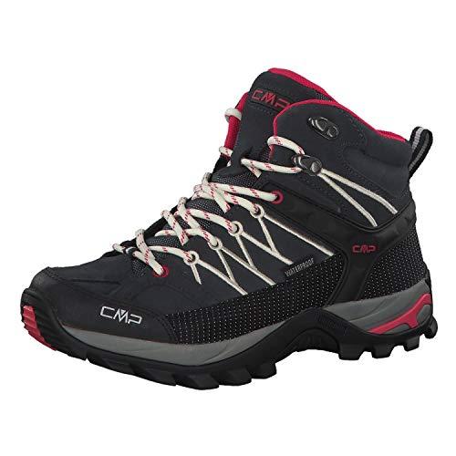 CMP Damen Rigel Mid Wmn Shoe Wp Trekking-& Wanderstiefel, Grau (Antracite-Off White 76uc), 39 EU