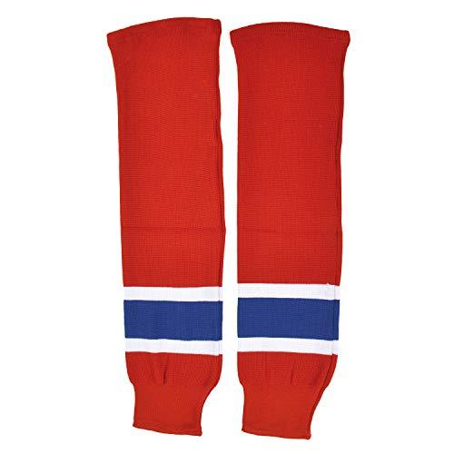 Sherwood Kinder SCHANNER Eishockey Stutzen Montreal Hockeystutzen, Rot/Weiß/Blau, Bambini