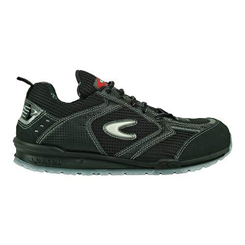 Cofra S.r.l. 78450-002 Sicherheitsschuhe S1P Petri Running sportliche Halbschuhe schwarz Gr. 42