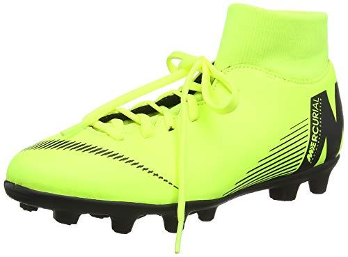 Nike Unisex-Erwachsene Superfly 6 Club Mg Fußballschuhe, Grün (Volt/Black 701), 42.5 EU