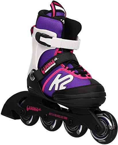 K2 Cadence 30E0876 Children's Multicoloured Adjustable Inline Skates / Roller Blades / Roller Skates for Girls