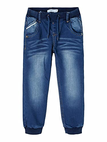 NAME IT Boy Pull-On Jeans Baggy Fit 104Medium Blue Denim