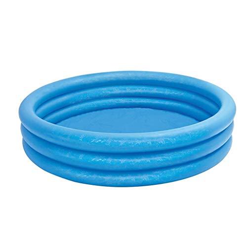 FGDSA Dreischichtige Runde Aufblasbare Kinderbadewanne,Aufblasbarer Whirlpool Whirlpools Badewannen Aufgeblasene Wannen Mit Luftpumpe Inflator Folding Langlebig