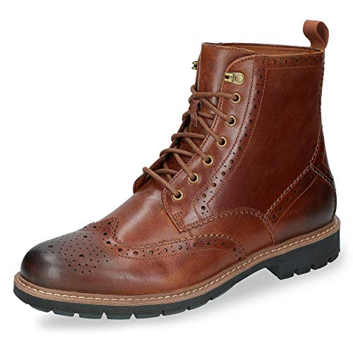 Clarks Herren Batcombe Lord Chelsea Boots, Braun (Dark Tan Leather), 44 EU