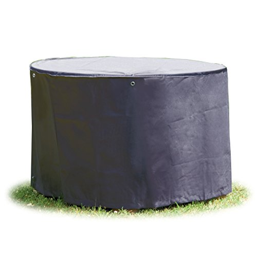 Schutzhülle rund 200 cm für Gartenmöbel Abdeckung Gartentisch in Premium-Qualität