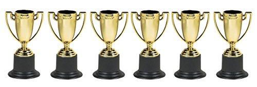 Amscan 215395 - Pokale, 6 Stück, Trophäe, Siegerehrung