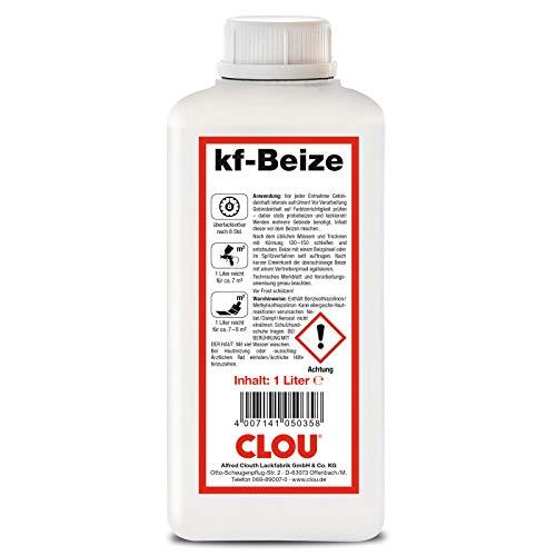 Clou kf - Beize - nussbaum Dunkel 2219-1000 ml / 1 ltr