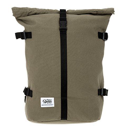 SPEAR Rucksack Courier 288 Fahrradrucksack Rollup Backpack (288 Oliv (Canvas))