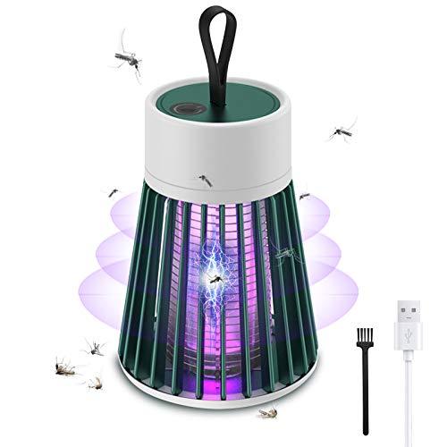 iPatio Elektrischer Insektenvernichter UV Insektenvernichter Insektenfalle Mückenlampe mit UV-Licht Campinglampe LED Mückenlampe Laterne Moskitolampe Elektrische Fliegenfalle