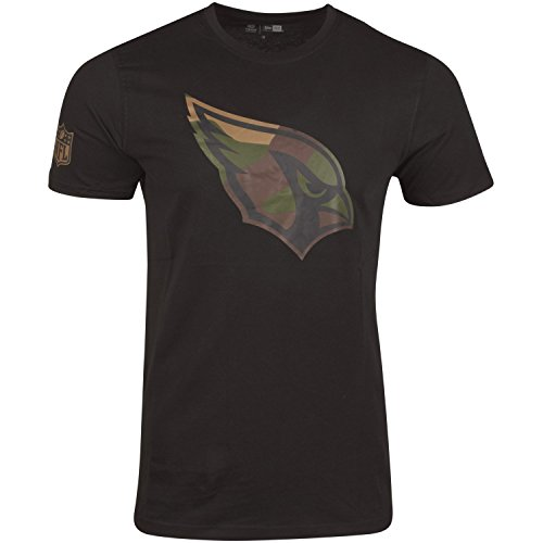 New Era Shirt - NFL Arizona Cardinals schwarz/Wood - L
