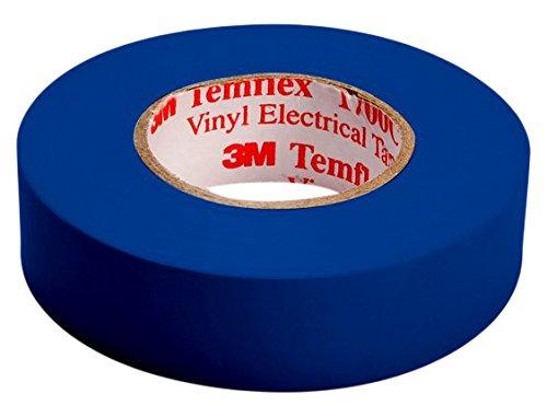 3M TBLA1510 Temflex 1500 Vinyl Elektro-Isolierband, 15 mm x 10 m, 0,15 mm, Blau