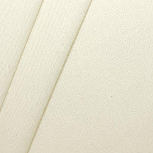 100% Baumwolle Nessel Stoff Rohware leichte Qualität Natur Ecru Meterware