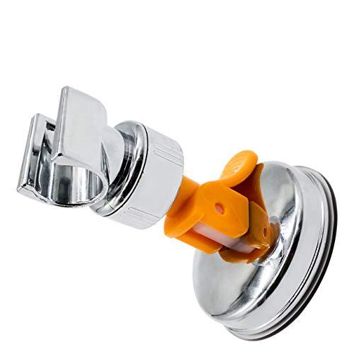 Brausehalter Verstellbarer Duschkopf Halterung Duschkopfhalterung Saugnapf Wand montierte Saughalterung 360° drehbar Brausehalter Handbrause (Vierte Generation)