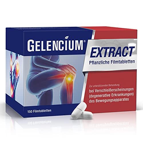 Gelencium EXTRACT Pflanzliche Tabletten: Neues Arzneimittel zur Behandlung von Gelenkschmerzen und Arthrose mit hochdosiertem Extrakt aus Teufelskralle, 150 Filmtabletten
