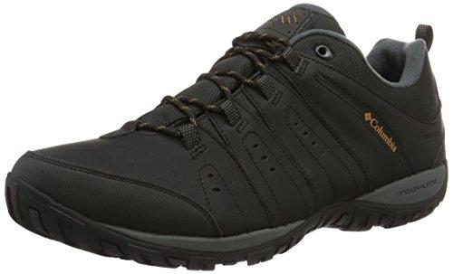 Columbia Herren Woodburn Li' Scarpe da Nordic Walking, Schwarz Karamell Black Caramel, 42 EU