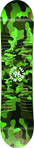 Nitro Snowboards Unisex Jugend Kids Ripper '20 BRD All Mountain Freestyle Twin Board Snowboard, mehrfarbig, 96 cm