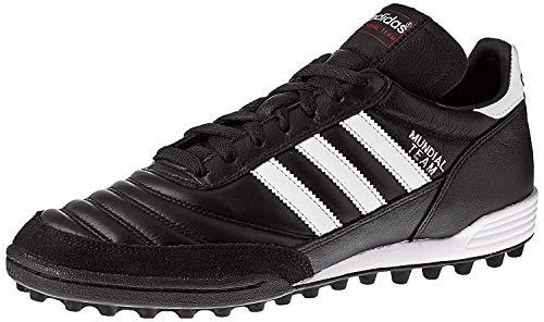 adidas Unisex-Erwachsene Mundial Team Fußballschuhe, Schwarz (Black/Running White Ftw/Red), 42 EU