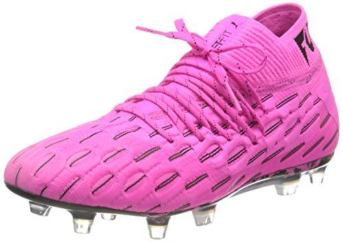 PUMA Unisex Future 6.1 Netfit FG/AG Fußballschuh, Luminous Pink Black, 39 EU
