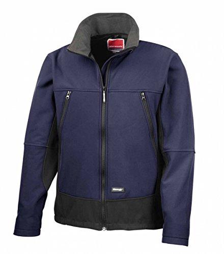 Result R120A Softshell Activity Jacke, Marineblau/Schwarz, Größe S