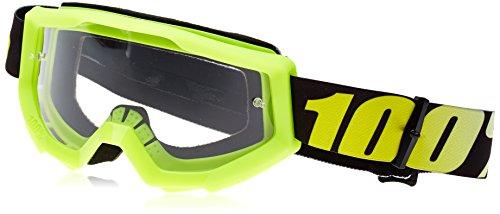 100% Strata MTB-Maske, Unisex, uni, Strata, gelb