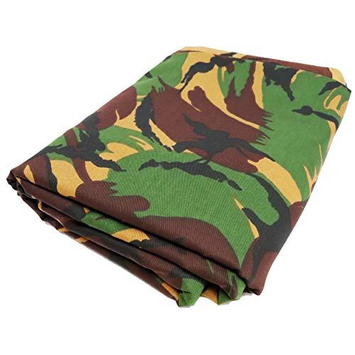 TODA Camouflage Stoff Meterware Tarndruck Flecktarn Militär NATO | reißfest | witterungsbeständig | Mischgewebe British DPM