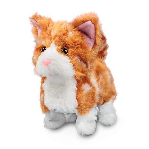 Ginger Kitten Süßes roothariges Kätzchen / Kuschelige Katze / Läuft und miaut (Elektronisches Spielzeug mit Funktion)