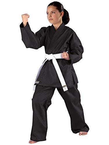 Kwon Karateanzug Shadow, schwarz, 551101, Gr.170