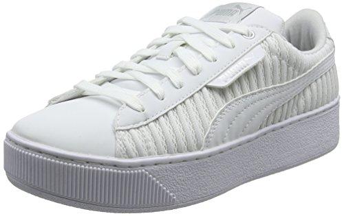 Puma Damen Vikky Platform EP Q2 Sneaker, Weiß White White, 41 EU