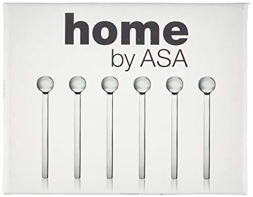 ASA 31000/950 Espressolöffel Edelstahl 9,5 cm, 6 Stück
