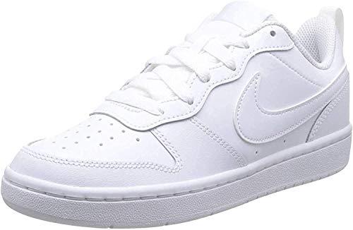 Nike Court Borough Low 2 Schuhe, White, 33.5 EU