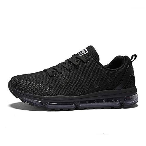 Axcone Damen Herren Sneaker Laufschuhe Air Sportschuhe Turnschuhe Running Fitness Sneaker Outdoors Straßenlaufschuhe Sports - BK 39EU