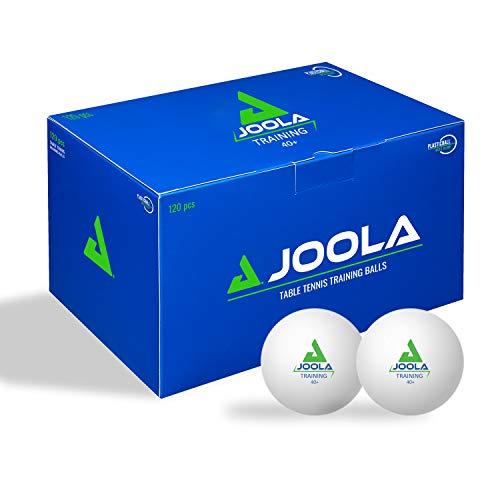 JOOLA Tischtennisbälle TRAINING 40+ Tischtennis Bälle 120er Karton, Weiss