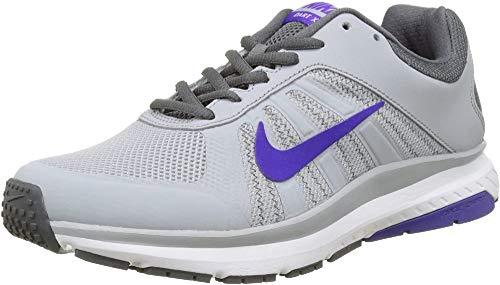 Nike Damen WMNS Dart 12 Laufschuhe, Grau (Wolf Grau/Fierce Purple), 39 EU