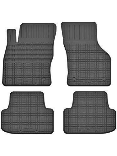 KO-RUBBERMAT Gummimatten Fußmatten 1.5 cm Rand geeignet zur VW Golf SPORTSVAN (ab 2014) ideal angepasst 4 -Teile EIN Set