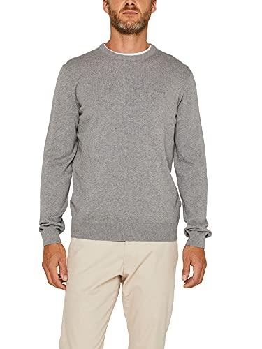 ESPRIT Pullover mit Rundhals-Ausschnitt, 100% Baumwolle