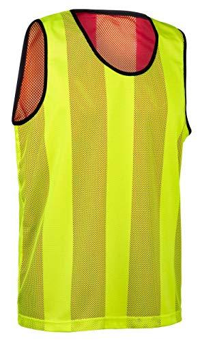 ELF Sports Wende Leibchen, Farbe:Gelb/Rot, Größe:M-L